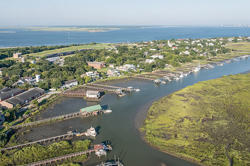 Intracoastal waterway - Sullivans Island and Isle of Plams